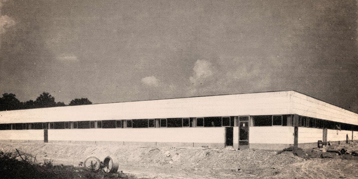 Ruf Betten Produktionsstätte am Standort Rastatt.
