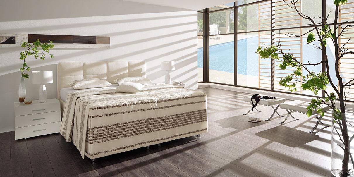 luxuriösen Schlafkomforts mit VERONESSE.
