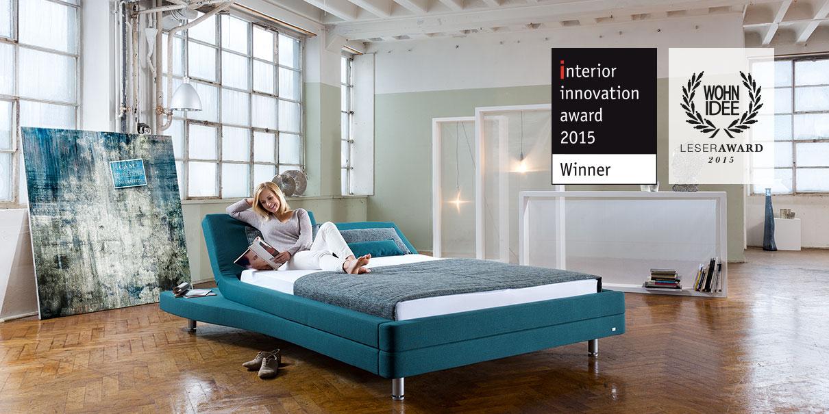 Design-Highlight ENTRO gewinnt den interior design award 2015.