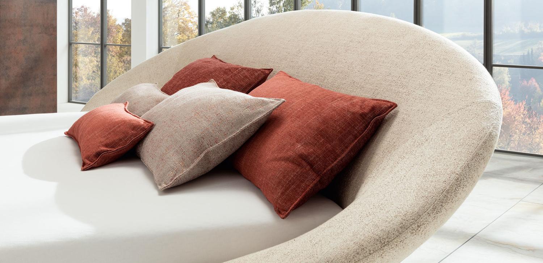COPPA - RUF|Betten - das Boxspringbett mit dreidimensionalem Kopfteil