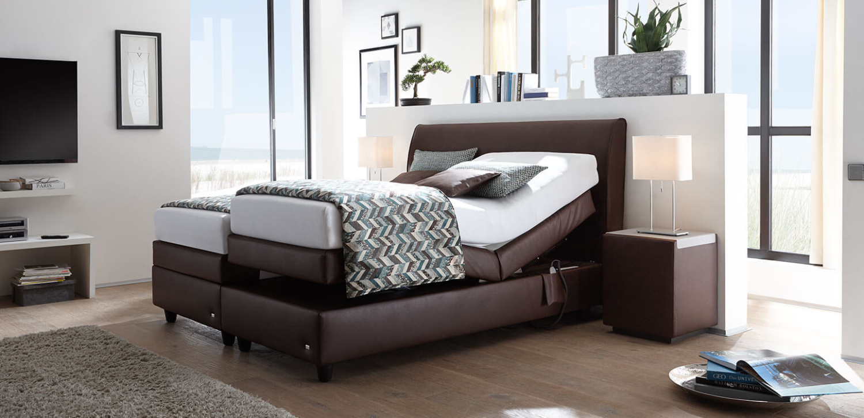 mercata ruf betten das boxspringbett mit eingebauter vollautomatik. Black Bedroom Furniture Sets. Home Design Ideas