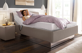 composium kta ruf betten mit abziehbarer sch rze. Black Bedroom Furniture Sets. Home Design Ideas
