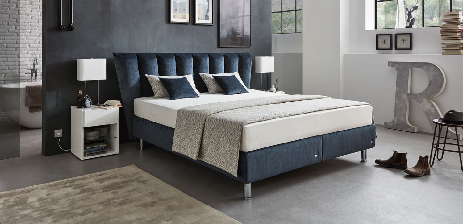 Canna Ruf Betten The Box Spring Bed That Shows Character
