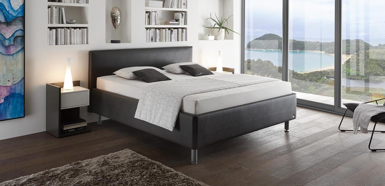casa ktg ruf betten ideal auch f r schlafr ume mit schr gen. Black Bedroom Furniture Sets. Home Design Ideas