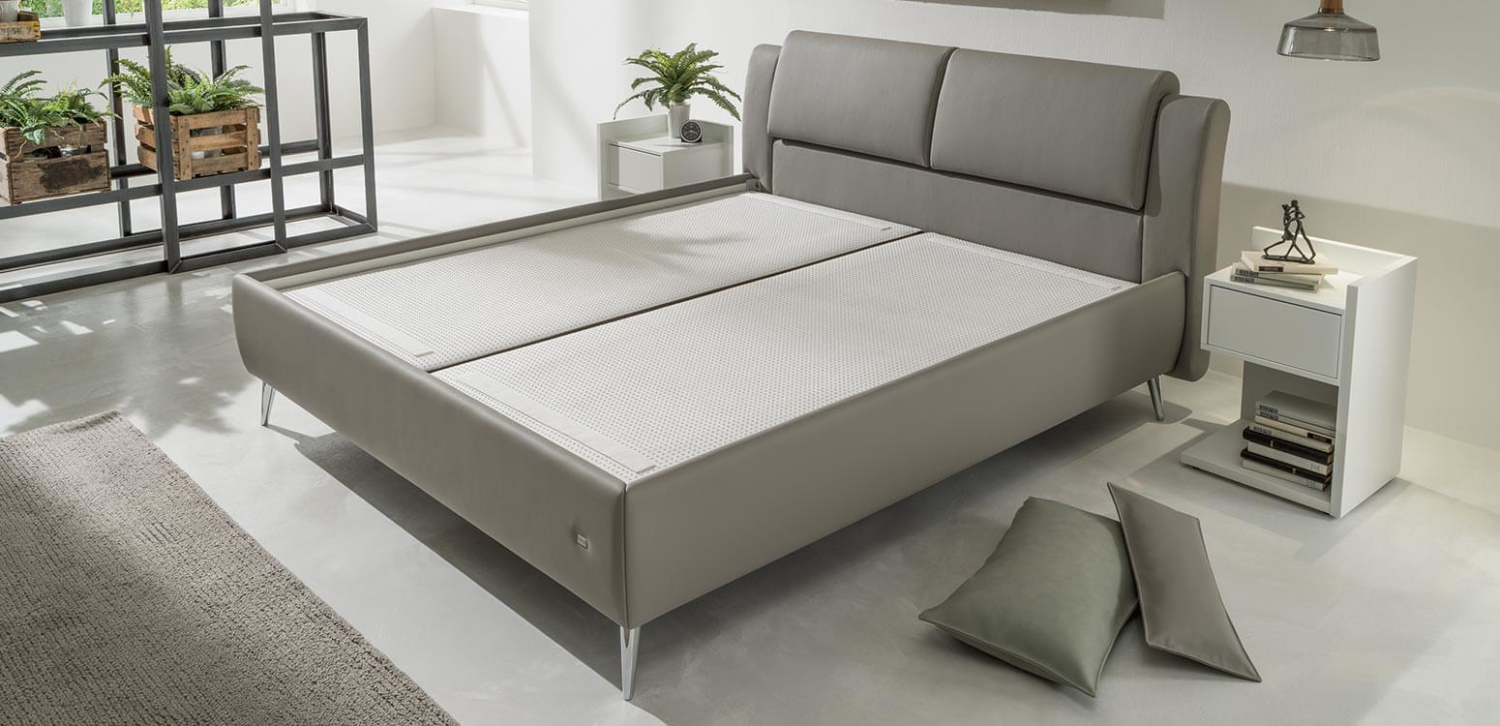 Absolut sicherer Matratzen-Halt: RUF Boxspringbett LOFTLINE KT-MV