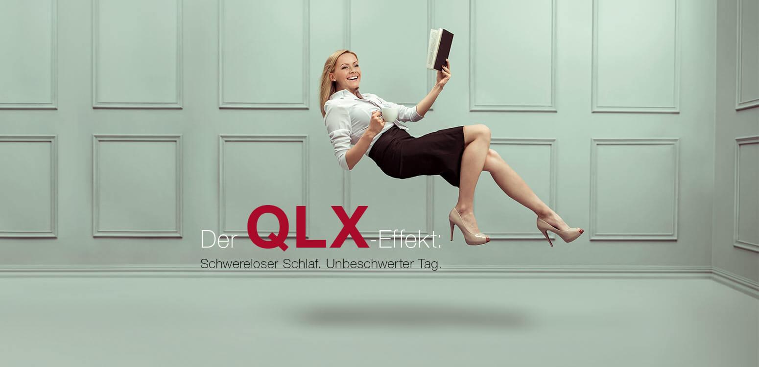 RUF Boxspring-System mit QLX-Effekt