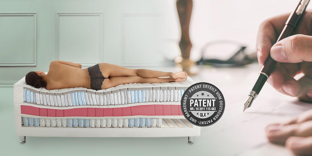 RUF|Betten Geschichte 2018 QLX Patent