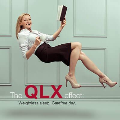 RUF box spring system with QLX effect