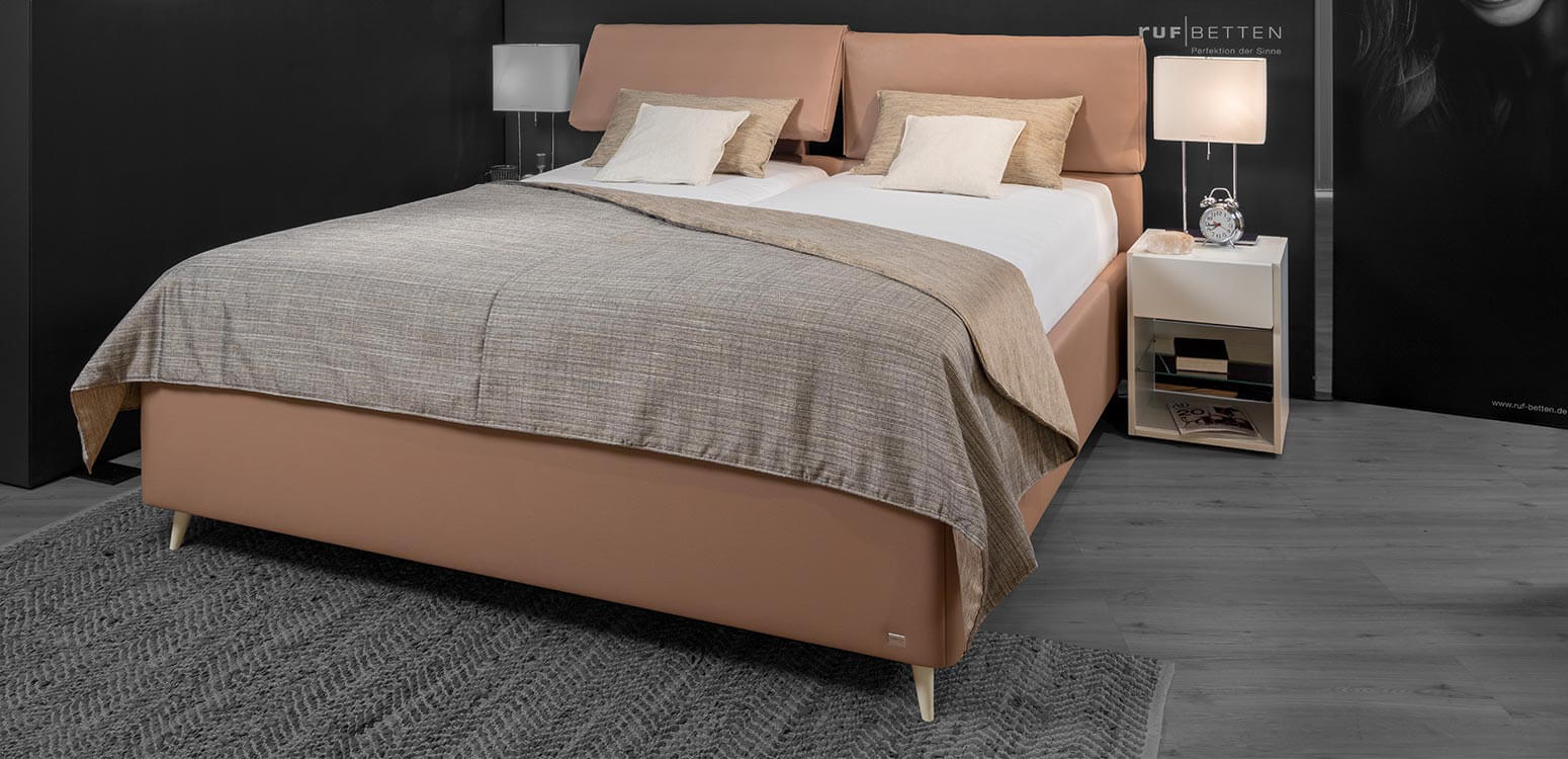 die betten neuheiten 2019 ruf betten markenbetten. Black Bedroom Furniture Sets. Home Design Ideas
