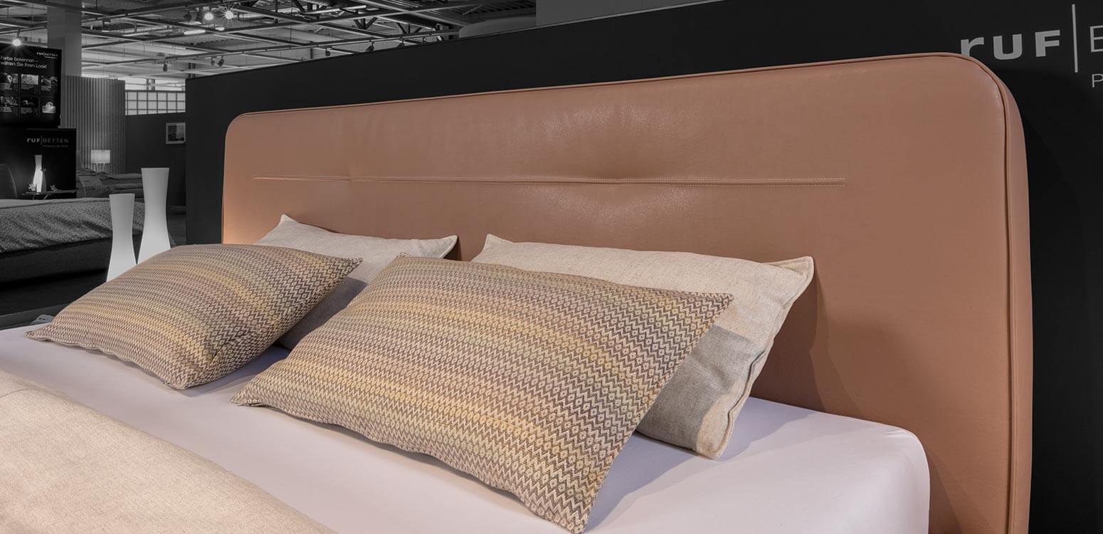 RUF-Bett VANEO Detailaufnahme